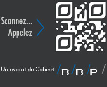 Scanner le QR Code Avocat Paris pour appeler un avocat du Cabinet